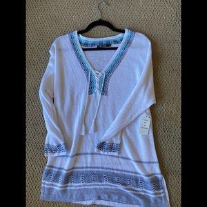 Nic + Zoe Tunic Sweater NWT